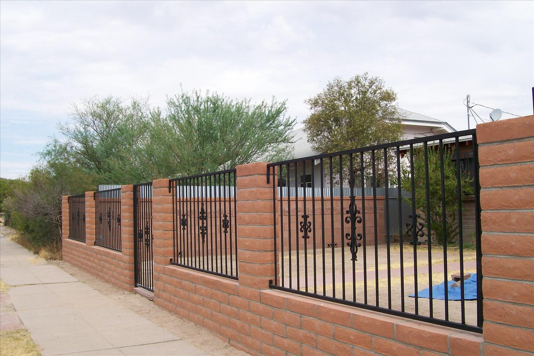 Gate Amp Wrought Iron Fence Gallery Old Pueblo Masonry Inc